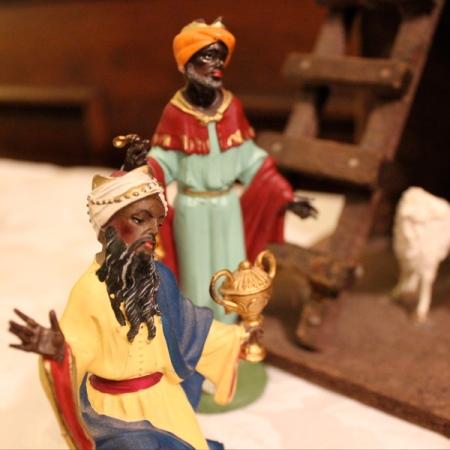 vintage nativity italy 2